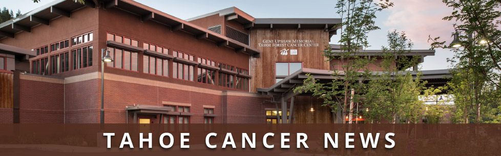 Tahoe Cancer News: Entrance to Tahoe Forest Cancer Center
