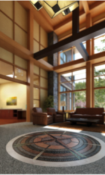 Tahoe Cancer Center reception area