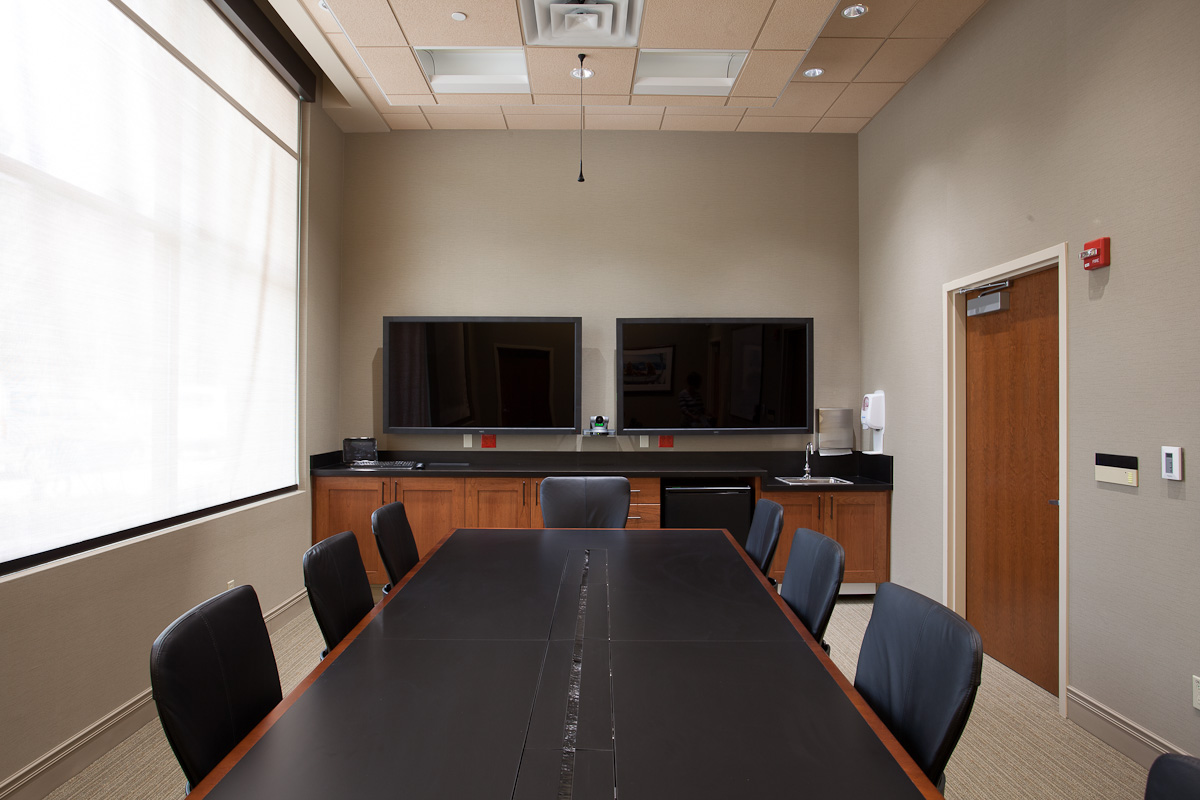 Conference room at the Cancer Center